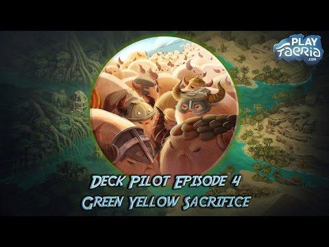 Faeria Guide - Deck Pilot Episode 4 - Green Yellow Sacrifice