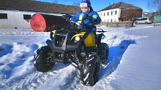 Квадроцикл Irbis ATV 110U. Видео 4K. Камера Sony Z3