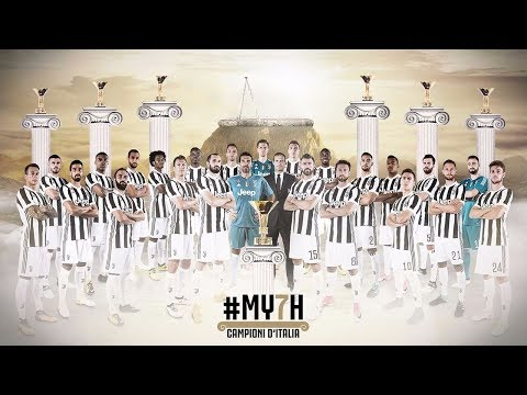 Juventus win 2017/18 Serie A to become #MY7H!
