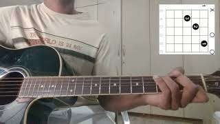 How to play 'SALUTHILLAVE' song on guitar(Kannada tutorial)