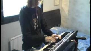 Sonata Arctica - Revontulet on keyboard
