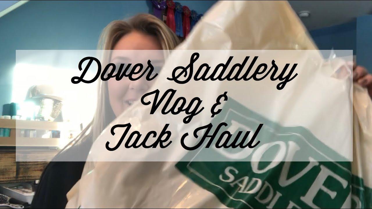 Dover Saddlery Vlog & Tack Haul   It's Show Time Equestrian   Total Saddle  Fit   Stubben Saddles