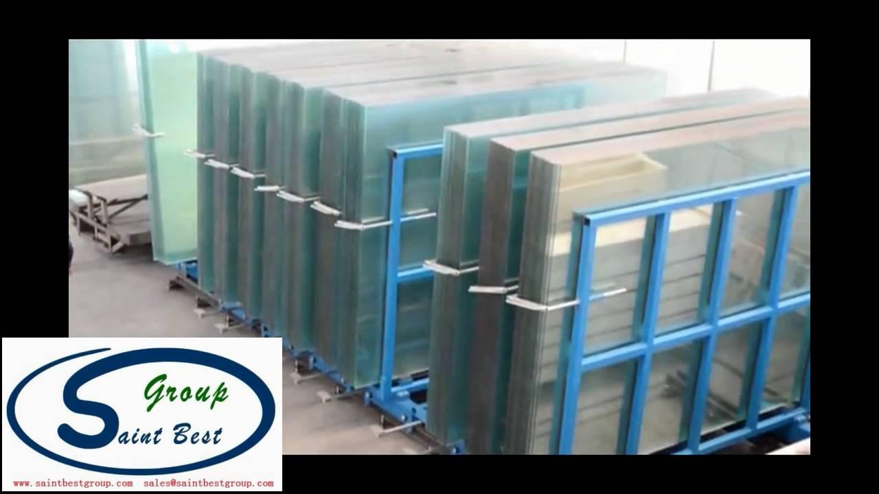 Nice Electric Original Sheet Glass Storage Rack / Wireless Remote Control Glass  Storage Equipment