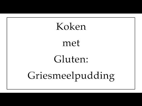 Koken met Gluten