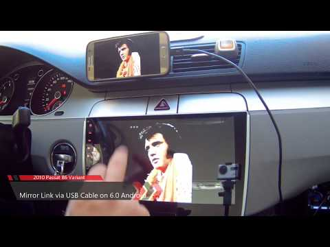 Mirror Link via USB Cable - Android Car Media