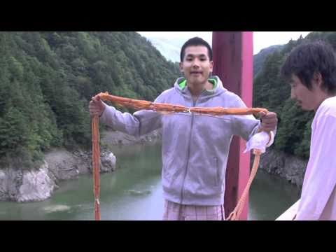 107feet handmade bungee jumping and rope swing!!