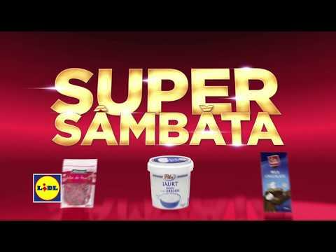 Super Sambata la Lidl • 19 Ianuarie 2019