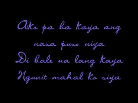 Jericho Rosales - Di Bale Na Lang Lyrics