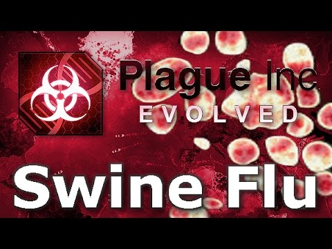 Plague Inc: Official Scenarios - Swine Flu (Mega Brutal)