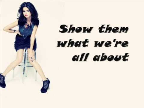 Selena Gomez - More (lyrics)