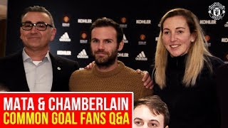 Juan Mata & Siobhan Chamberlain answer fans' questions | Common Goal | Manchester United