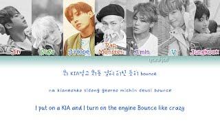 Video BTS (방탄소년단) - Ma City  (Color Coded Han|Rom|Eng Lyrics) | by Yankat download MP3, 3GP, MP4, WEBM, AVI, FLV Agustus 2018