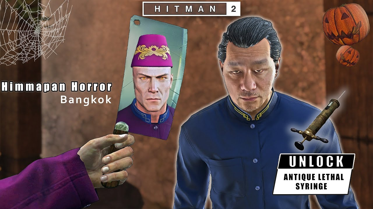 Hitman 2 The Himmapan Horror Challenges Pack All In One Silent