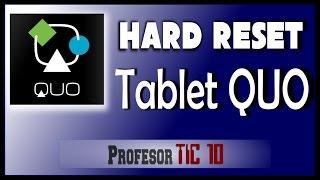 Video Cómo hacer Hard Reset (formatear, desbloquear) Tablet QUO download MP3, 3GP, MP4, WEBM, AVI, FLV Juli 2018