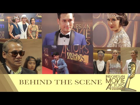 Behind The Scene Indonesian Movie Actors Awards