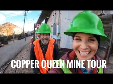 Bisbee, Arizona, Copper Queen Mine Tour. Full Time Van Life!