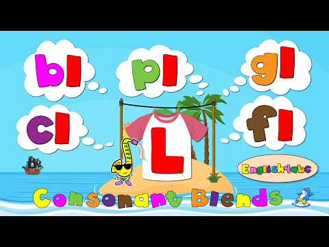 Consonant Blends / The Letter L / Phonics Mind Map