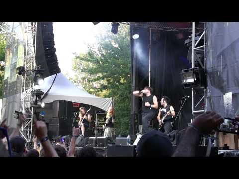"UNEARTH New Song 2014 ""The Sworm"" Live at Heavy Montreal 
