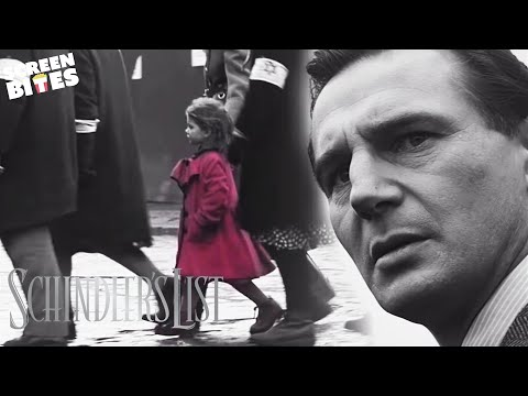 Schindlers List The Girl In The Red Coat Ft Oskar Schindler