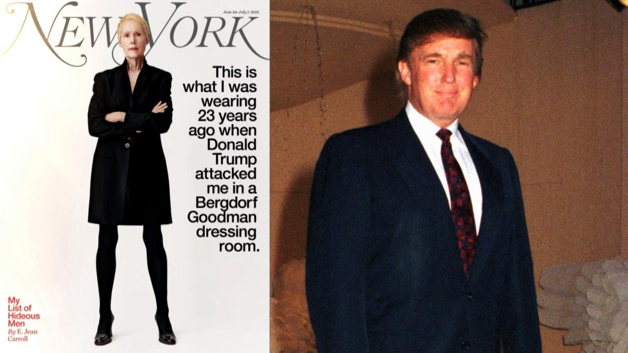 Donald Trump Has Been Accused Of Raping An Advice Columnist In A Department Store Dressing Room