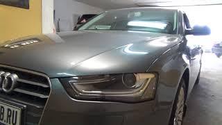 AUDI A4 B8 -ремонт фар с заменой стёкол