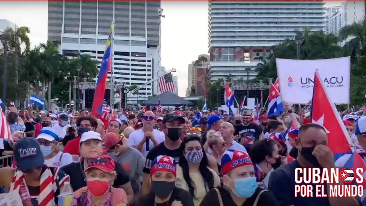 Abajo las Cadenas: Todos unidos por Cuba, Venezuela y Nicaragua