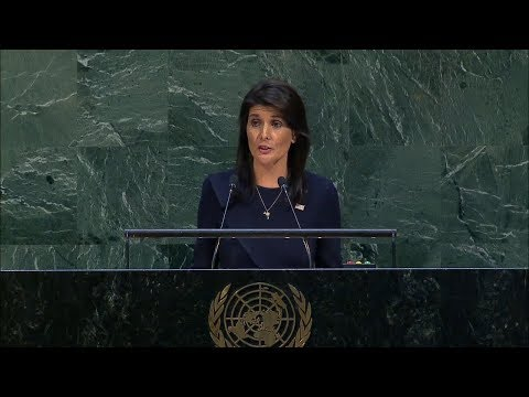 UN General Assembly Meeting on Cuba