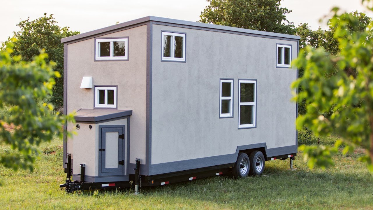 Super Lightweight Tiny House Is Easy To Tow Youtube