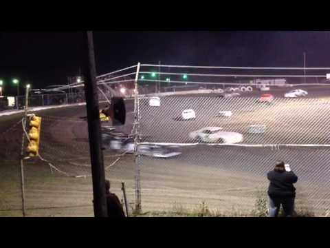 Factory Stock Feature part 9 Superbowl Speedway 3-18-17
