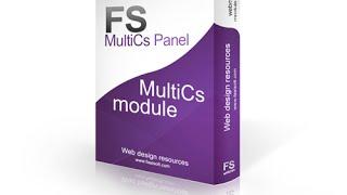 MultiCs Panel Install