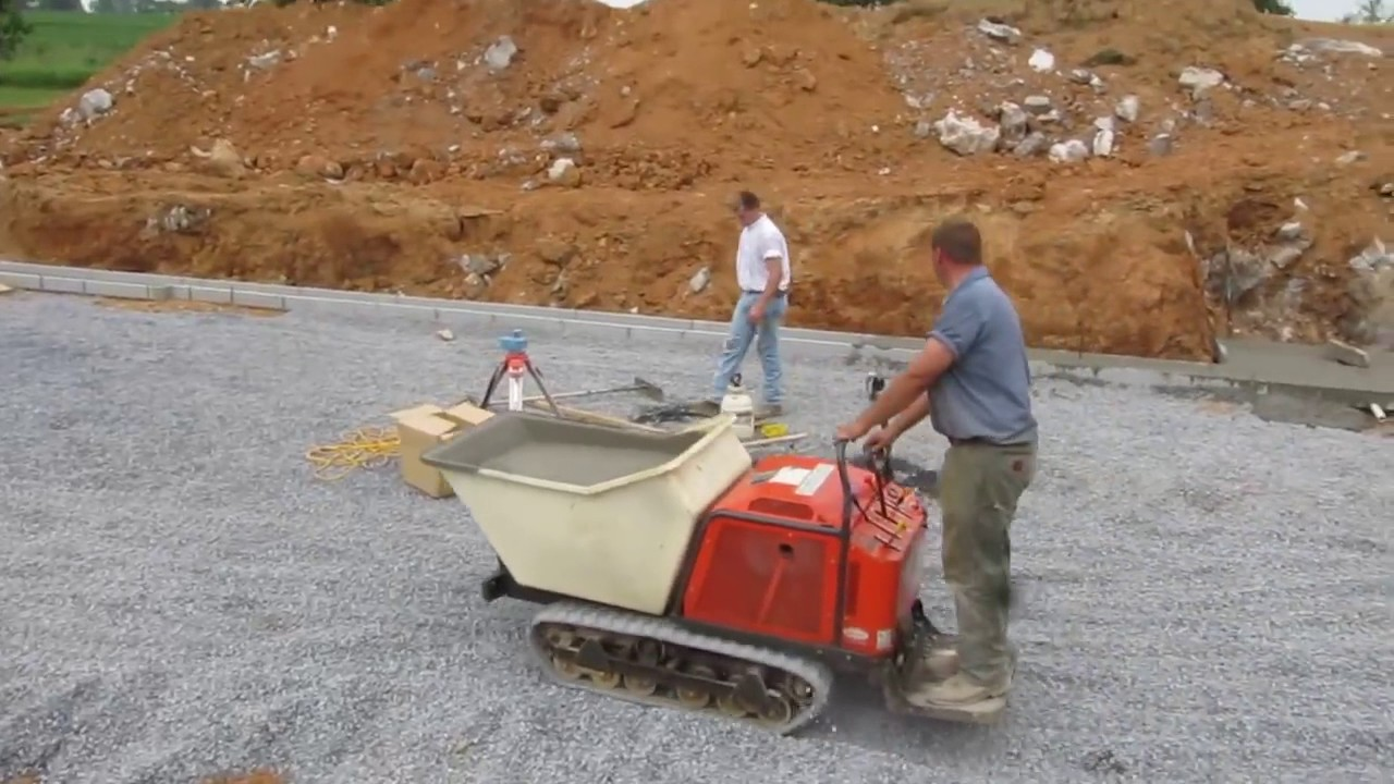 Concrete Buggy, Track (16 Cu Ft Capacity) | Eds Rental & Sales
