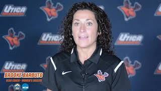 Brooke Barbuto Named Utica College Women's Soccer Coach