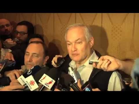 NHL LOCKOUT FINALLY ENDS  - Interview with Gary Bettman and Donald Fehr