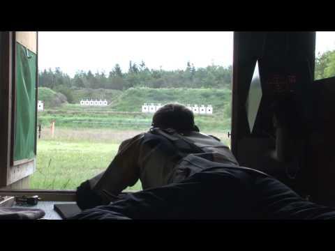 NM Militær Femkamp 2012 - 2. Del - Skydning Og Forhindringsbane