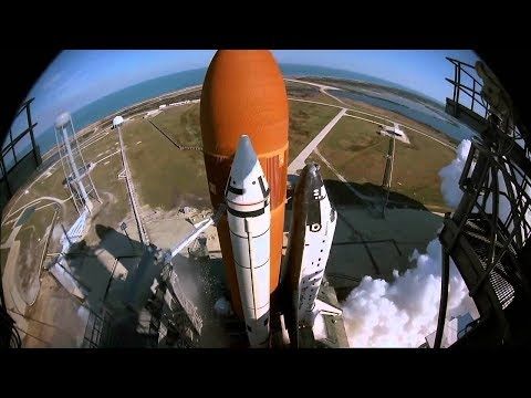 [10 Hour Docu] Space Shuttle Launches Slow-Mo Close Up - Video & Music [1080HD] SlowTV