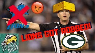 The LIONS Got ROBBED! The Refs Are Complete TRASH!!!
