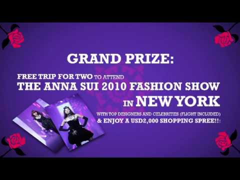 "SG & MY: THE ANNA SUI ""ROCK ME!"" CONTEST"