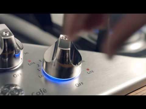 Ge Cafe Cooktop Backlit Knobs Youtube