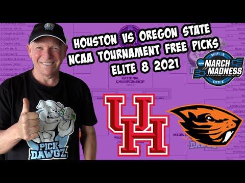 Houston vs Oregon State 3/29/21 Free College Basketball Pick and Prediction NCAA Tournament Elite 8