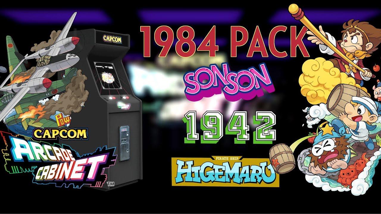 1942 Arcade Cabinet Capcom Arcade Cabinet 1984 Pack Sonson 1942 Pirate Ship