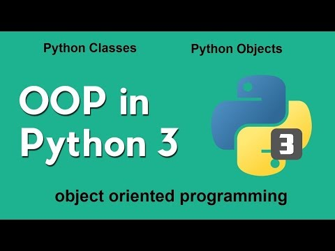 Python OOP Tutorial | Object-oriented Programming in 1 hour | python 3 Classes - Objects - Methods thumbnail