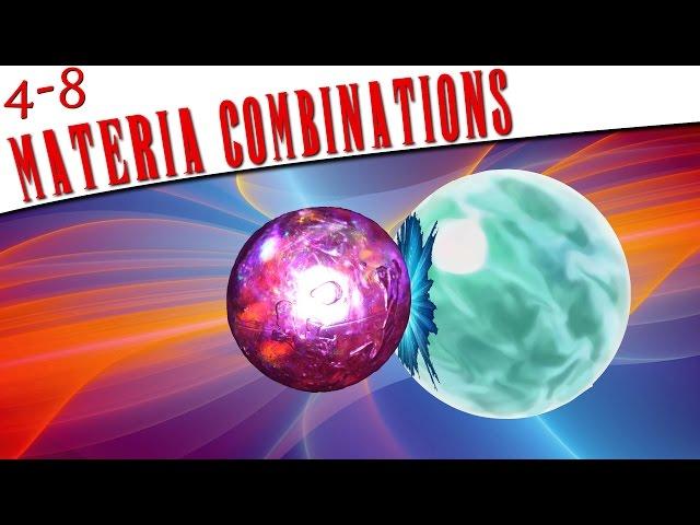 FFVII - Materia Combinations