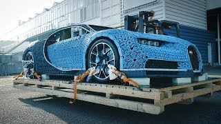 ANWB bouwt mee aan levensgrote LEGO Bugatti 2018
