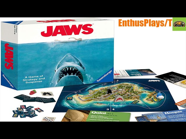 Jaws (Board Game) - EnthusPlays | GameEnthus