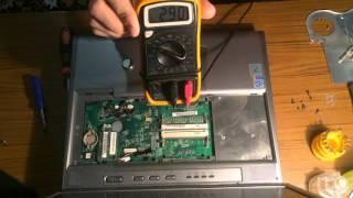 Разбор ноутбука RoverBook Voyager CT 7 W +  своими руками