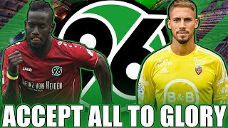 FIFA 17: HANNOVER 96 ACCEPT ALL TO GLORY 🔥 | AUF IN DIE 1. BUNDESLIGA !! 😱 | KARRIERE DEUTSCH
