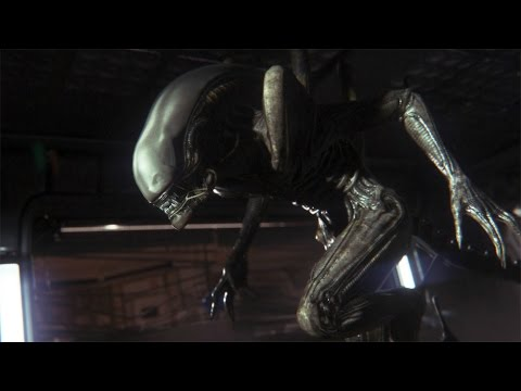 Alien Isolation - Mission 3, first alien encounter.