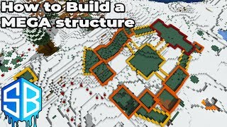 How to build an Awesome Mega Structure in Minecraft 1.14 Survival : Sourceblock SMP