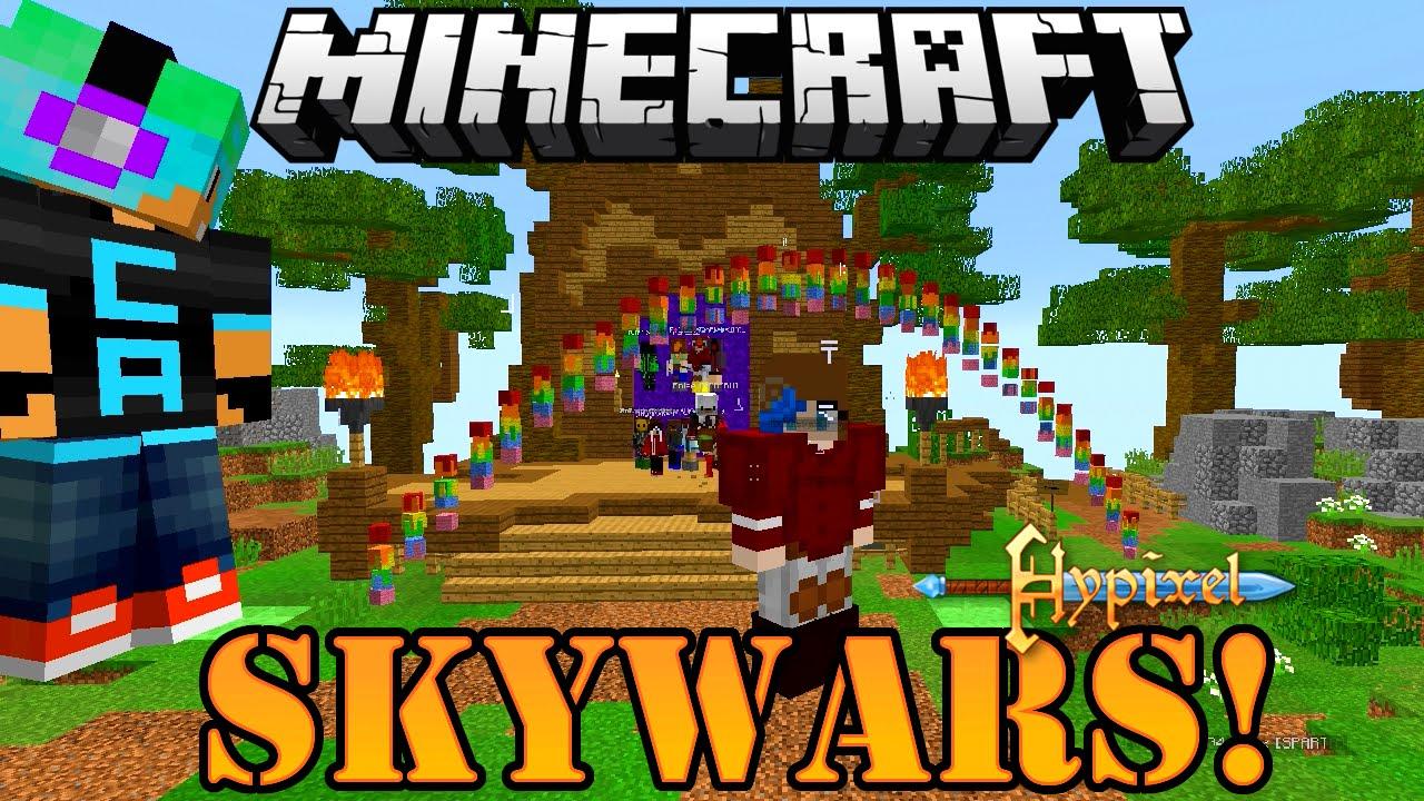 Minecraft Let S Play Insane Team Skywars Gamer Chad