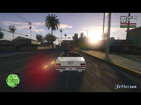 GTA San Andreas - Final Mission / Ending (V Graphics)